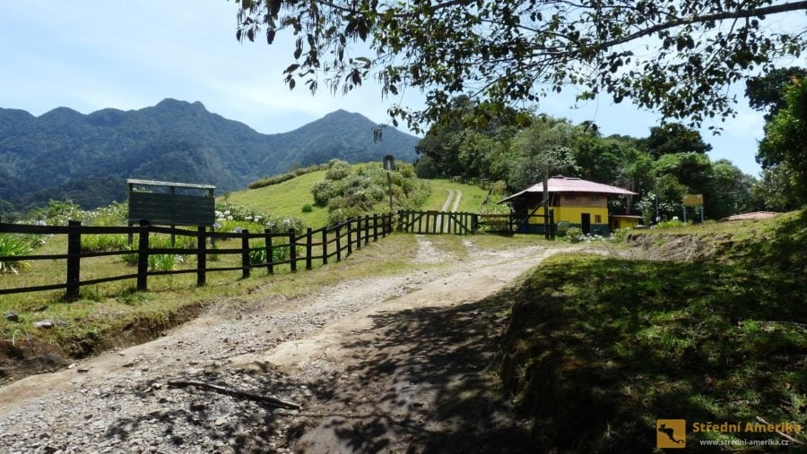 Stanice rangerů nad Cerra Punta