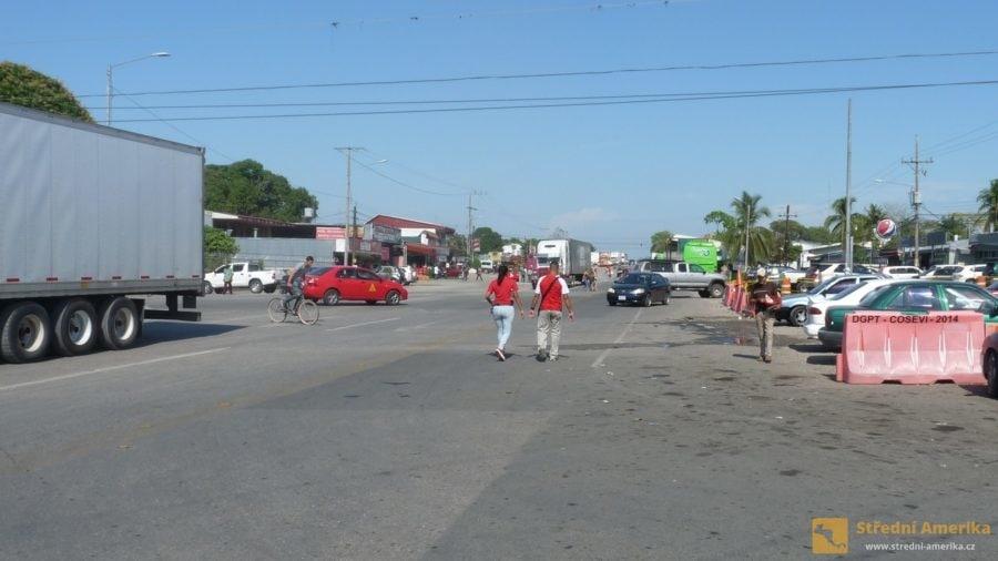 Panamsko-kostarická hranice, hraniční pásmo
