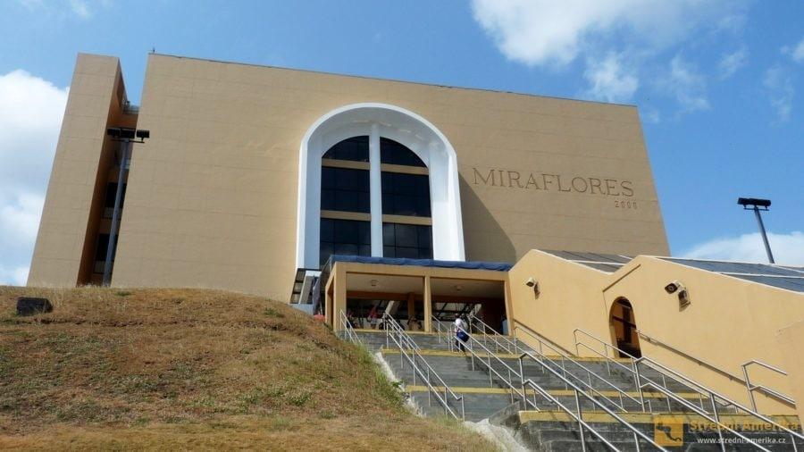 Panama, návštěvnické centrum u zdymadel Miraflores (Miraflores Visitor Center)