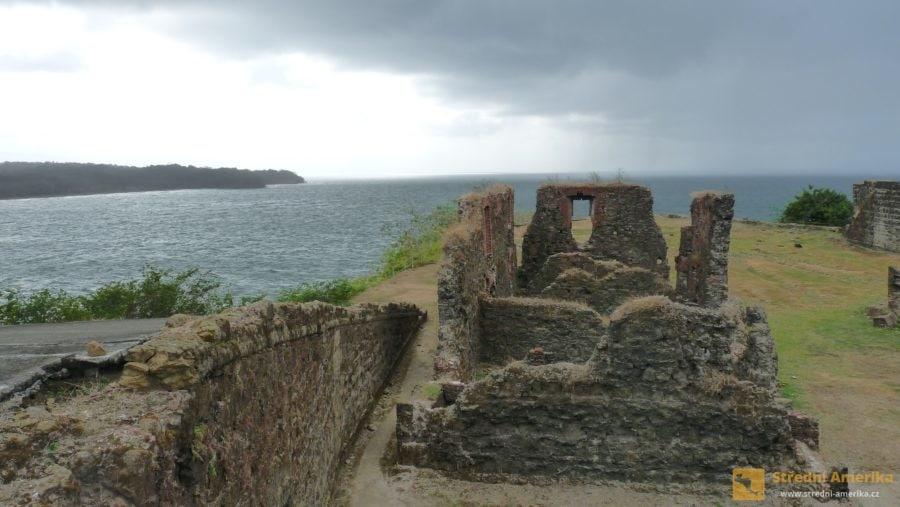 San Lorenzo, zbytky karibského opevnění, památka UNESCO