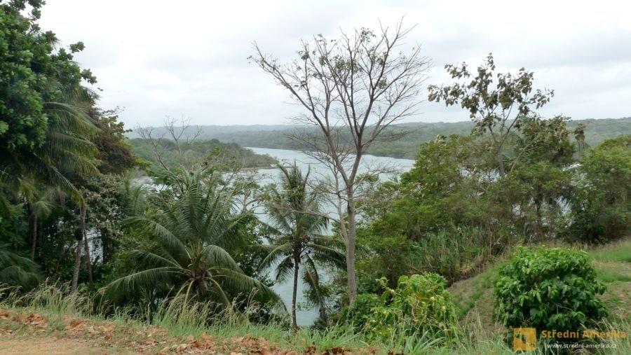 San Lorenzo, ústí řeky Río Chagres do Karibského moře