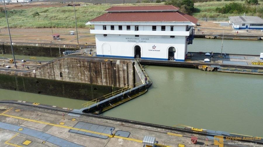 Panama, vrata zdymadla v Miraflores