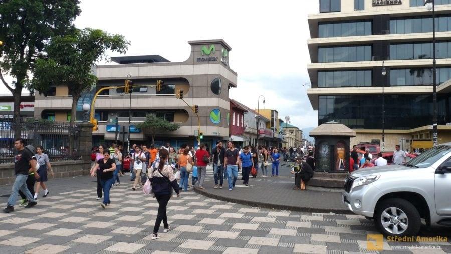 San José, hlavní město Kostariky