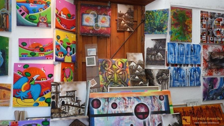 Nikaragua, Granada, Casa de los Tres Mundos