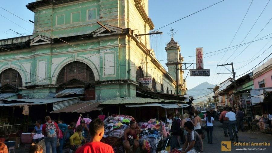 Nikarague, Granada, stará tržnice a tržiště