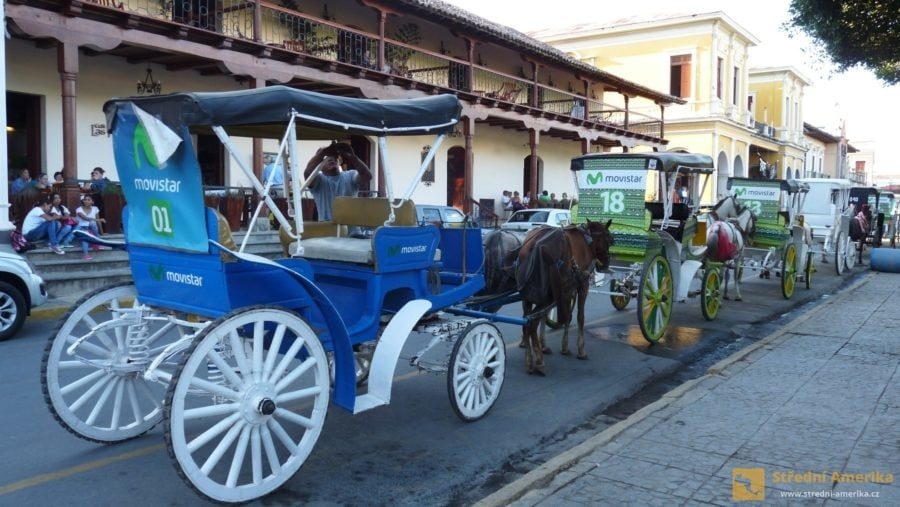 Granada: Movitější turisté rádi hojně využívají kočárové prohlídky města
