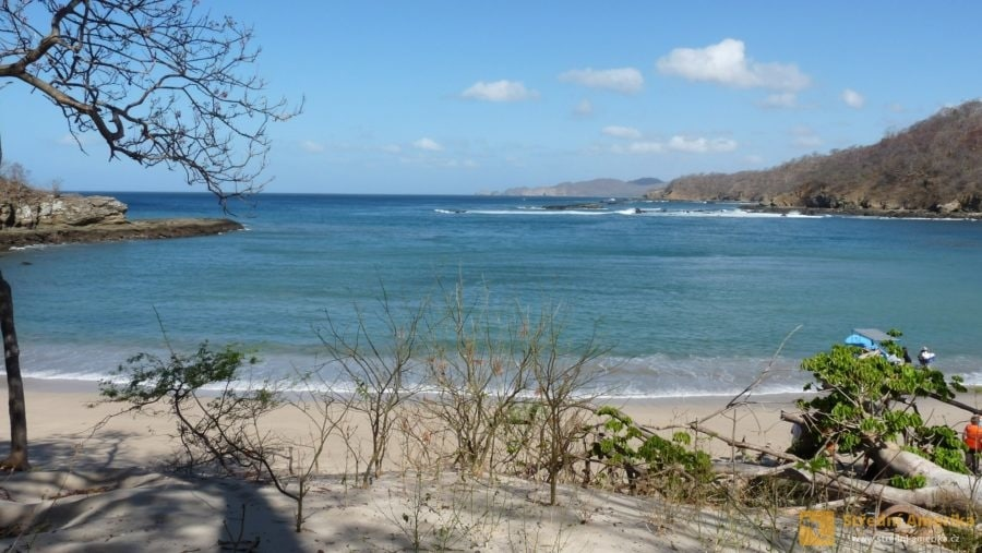 Nikaragua, San Juan del Sur. Z výletu lodí.