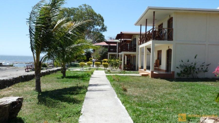 Ometepe: Ubytování lze pohodlně vybrat přes on-line rezervační systémy. Resort Finca Playa Venecia.