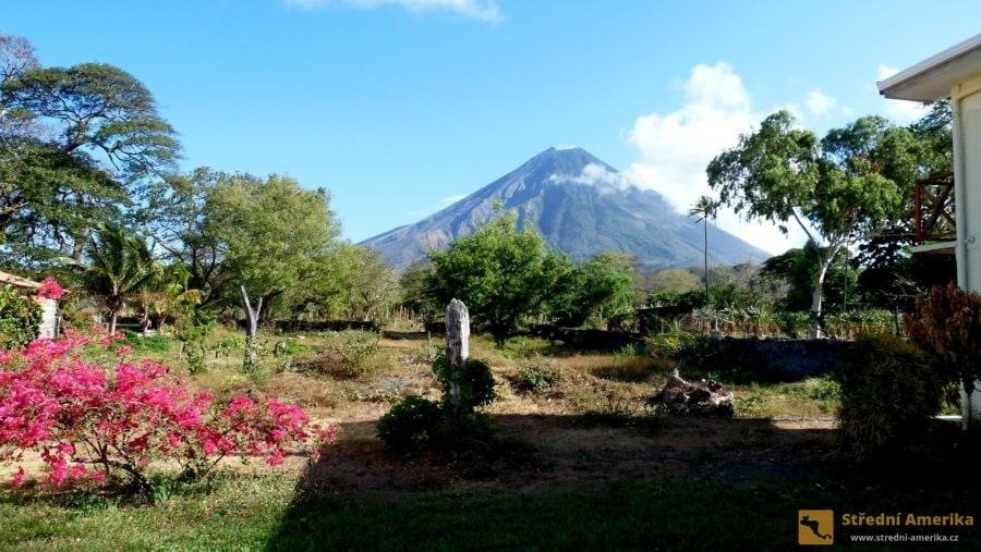 Nikarague, ostrov Ometepe s vulkánem