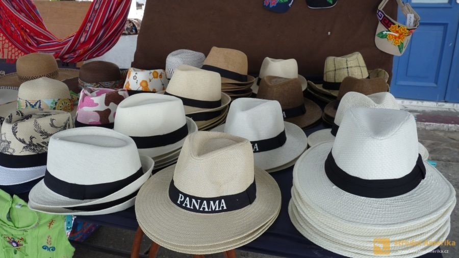 Panama: Číslo jedna mezi suvenýry jsou legendární panamské klobouky,