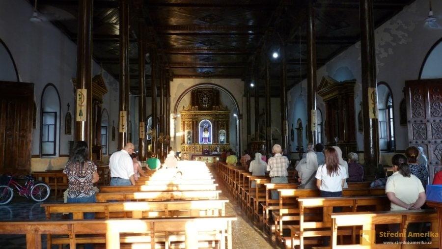 Leon, kostel San Juan Bautista de Subtiava