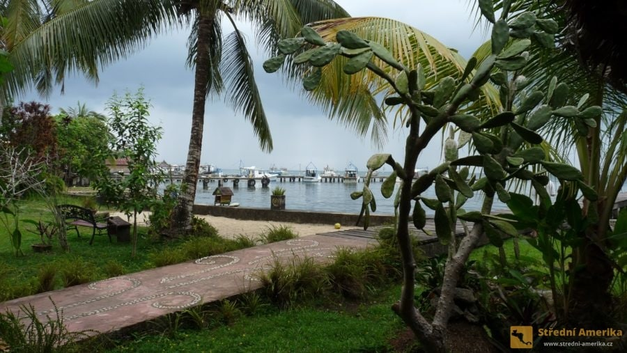 Guatemala, Livingston, přístaviště